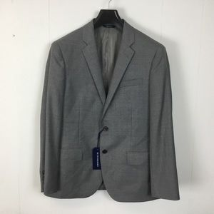 Buttoned Down mens gray suit jacket